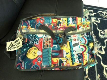 Lesportsac duffel travel bag