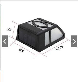 1 pcs ( RM 17 ) / 3 pcs (RM 40) LED Solar Motion Sensor Light