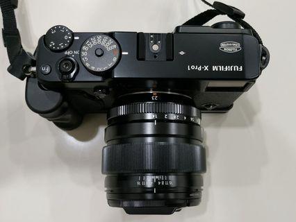 Fujifilm X-pro1 Xpro1 Body + Handgrip + Original Leather Case and Strap