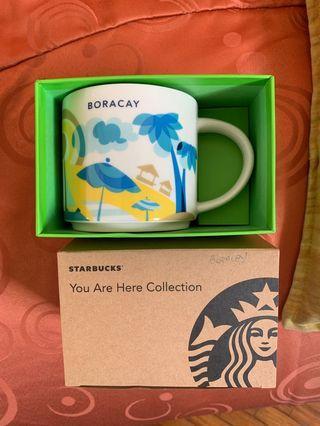 Starbucks Philippines You Are Here Mug Boracay