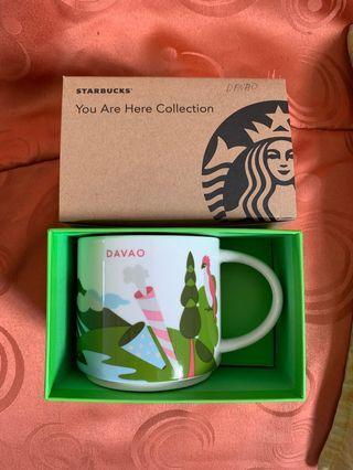 Starbucks You Are Here Mug DAVAO