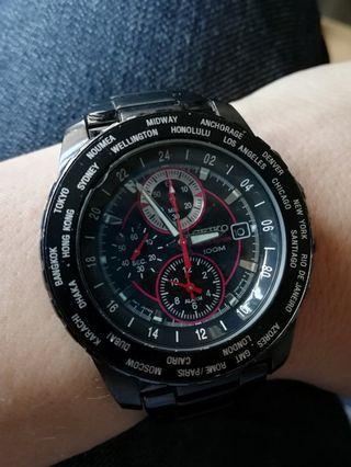 Seiko World Time Chronograph Limited Edition