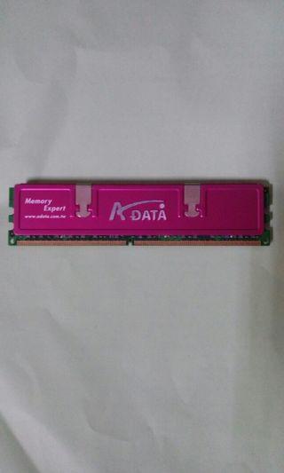 威剛 DDR2 帶散熱片 記憶體 2g