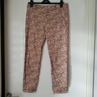 Zara paisley print pants