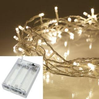 10 Meters 100 Led Battery Operated Fairy String Light