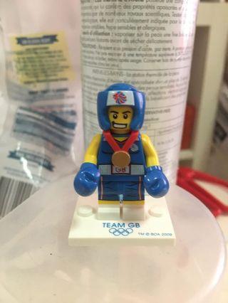 Lego Minifigures Team GB Brawny Boxer