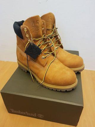 Timberland premium boots 6in waterproof wheat brown 100% original