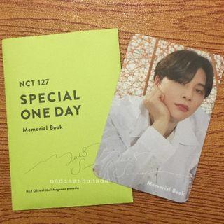 [WTT/WTS] NCT 127 MEMORIAL BOOK JOHNNY PC
