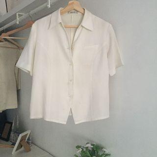 White Shirt short sleeves