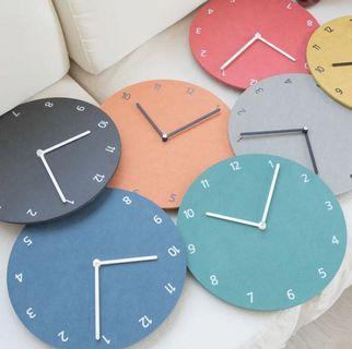 🚚 [instocks] lunar minimalist round wall clock