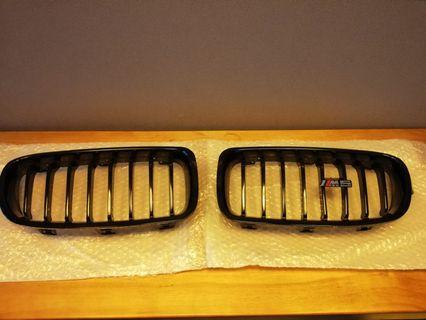 BMW F30 Front Grill Gloss Black