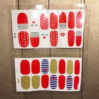 Stiker Kuku nail wrap sticker