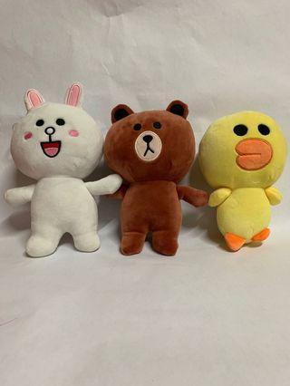 🚚 Line Series Plush Toys