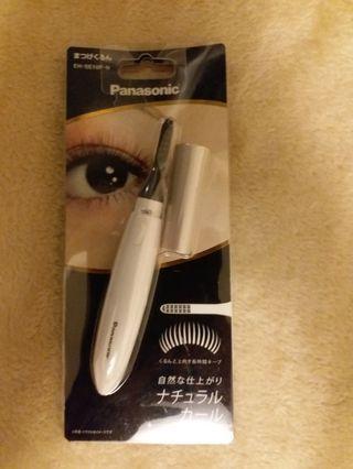 日本Panasonic E10 燙睫毛器/白
