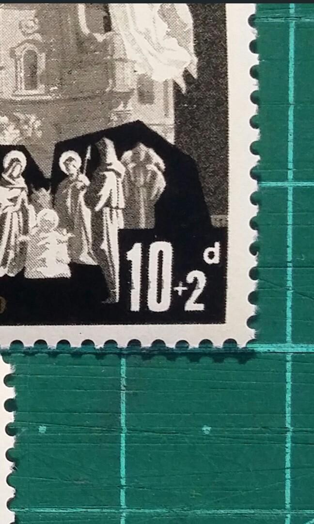 [印刷趣味品]1970 英屬馬爾他 聖誕節紀念 新票一套
