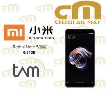 XIAOMI REDMI NOTE 5 6GB/64GB GARANSI RESMI TAM