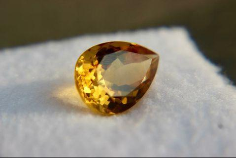 Natural unheated Gem Yellow