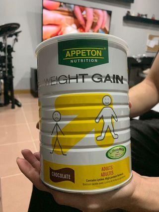 Appeton Nutrition Weight Gain