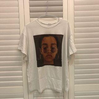 人像白t-shirt(保存良好)