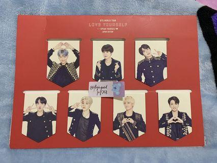 BTS Japan Speak Yourself MD Magnetic Bookmark