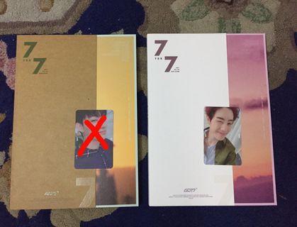 GOT7 7 for 7 Album