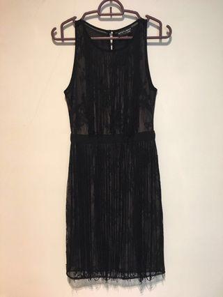 Black Lace Gatsby Dress