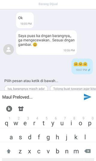 Real testi from my customer