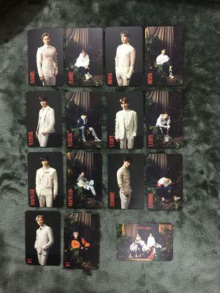 MONSTA X ALLIGATOR JAPAN PHOTOCARD SET
