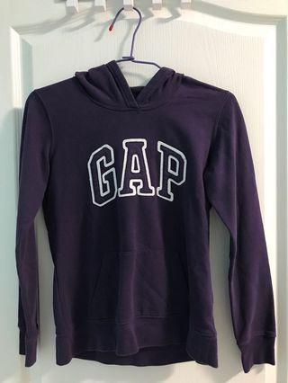 Gap紫色帽T