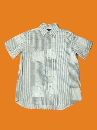 復古直紋襯衫