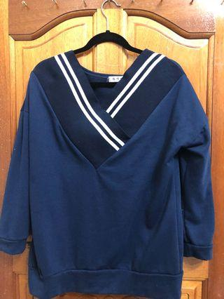 海軍藍上衣