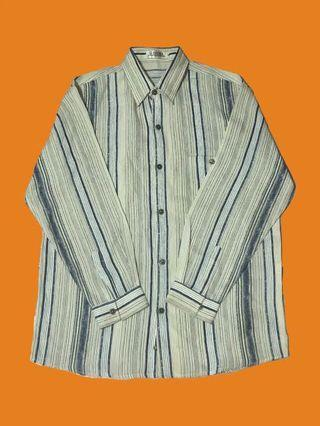 直紋襯衫(材質薄好)