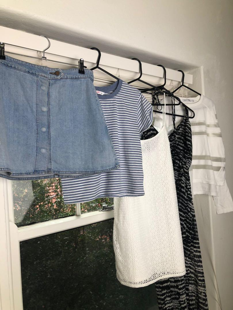 5 piece capsule wardrobe bundle - all size S brands Zara, The Fifth, Supre, Finders Keepers