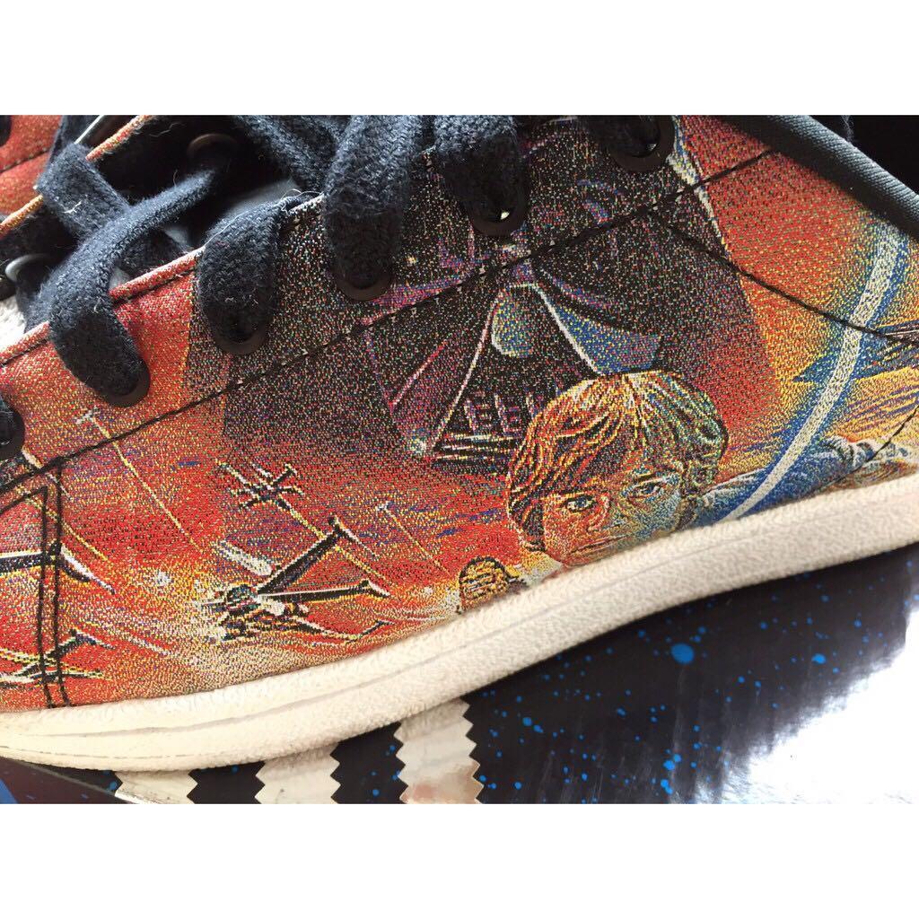 星際大戰✔愛迪達×adidas×Star Wars×基本款×休閒鞋×貝殼頭