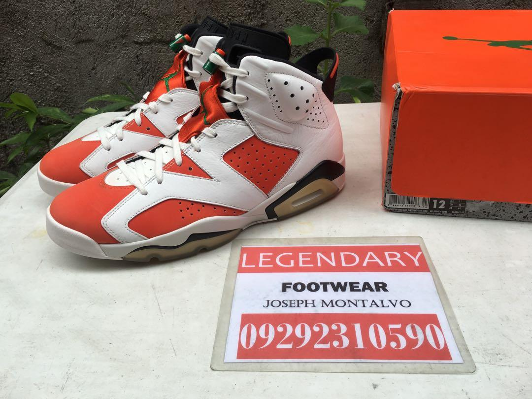 huge selection of e51ae ead12 Air Jordan 6 Gatorade size 12 not Kyrie Kobe Nike KD PG ...