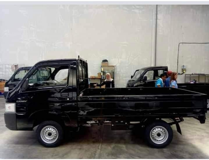 All new Carry pick up ( Dp 5jtan / Angsuran3,6an )