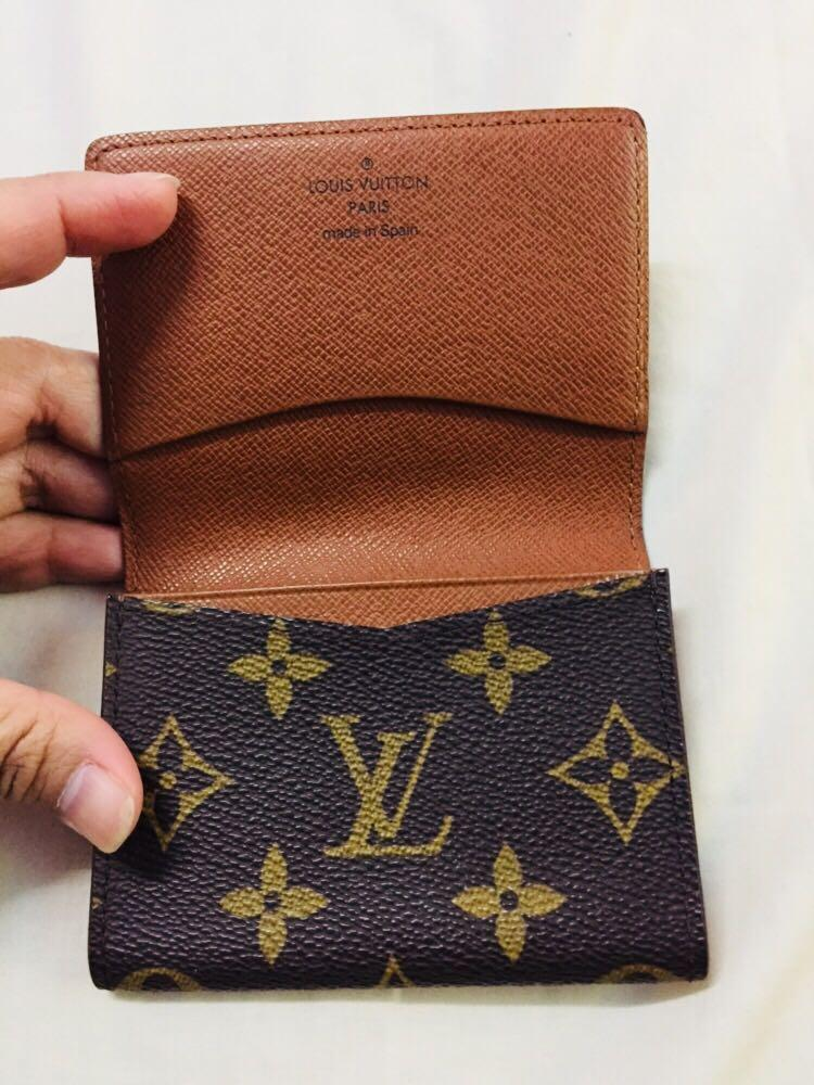 Authentic LV compact/card wallet