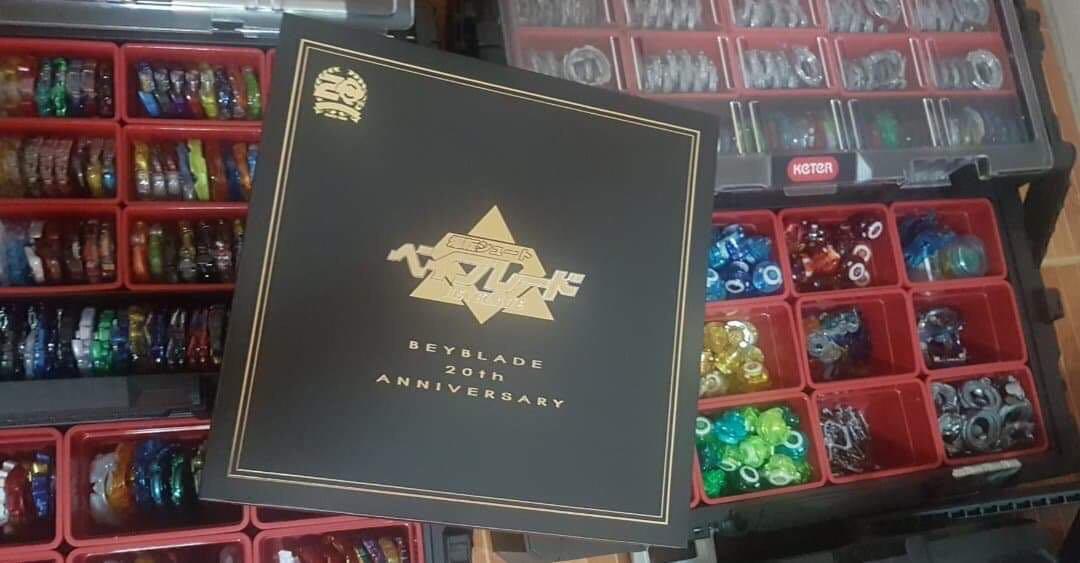Beyblade 20th Anniversary Set!! Super limited stocks!!!