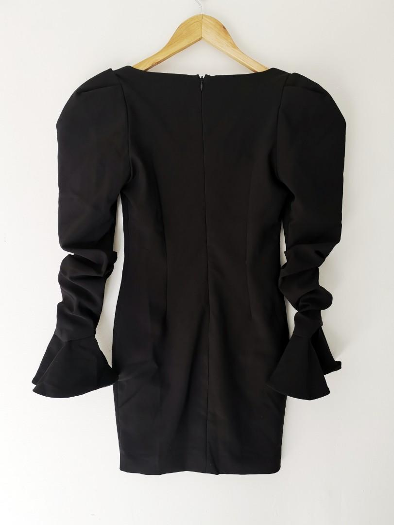 BIANCA AND BRIDGETT Giselle Dress in Black - Size 8 RRP $300