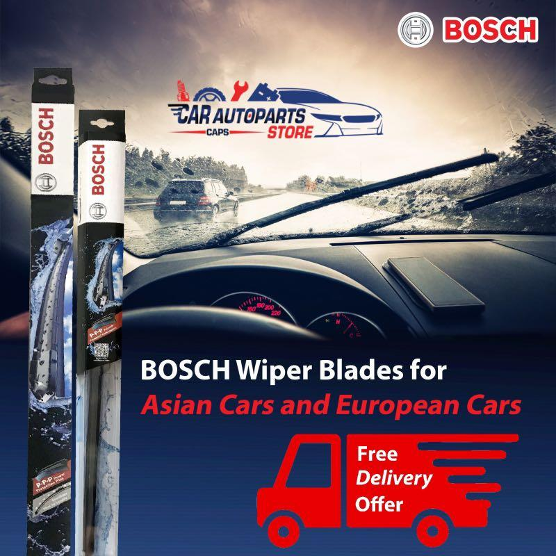 Bosch Aerotwin Wipers Free Delivery and installation Promotion