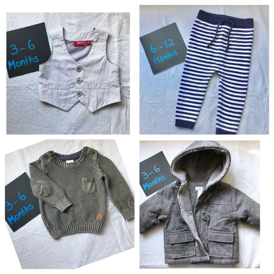 Brand name designer boys clothing 3 months-2years clothing bundle 🥰