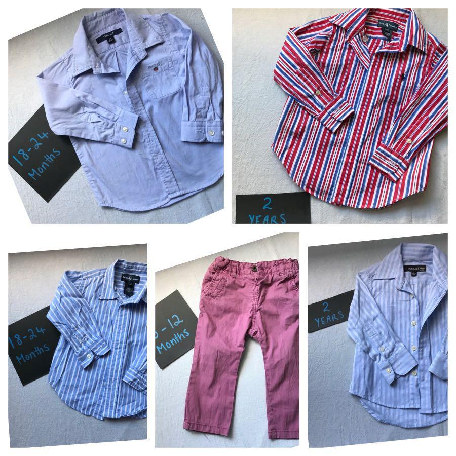 Brand name designer boys clothing 3 months-2years clothing bundle 🥰