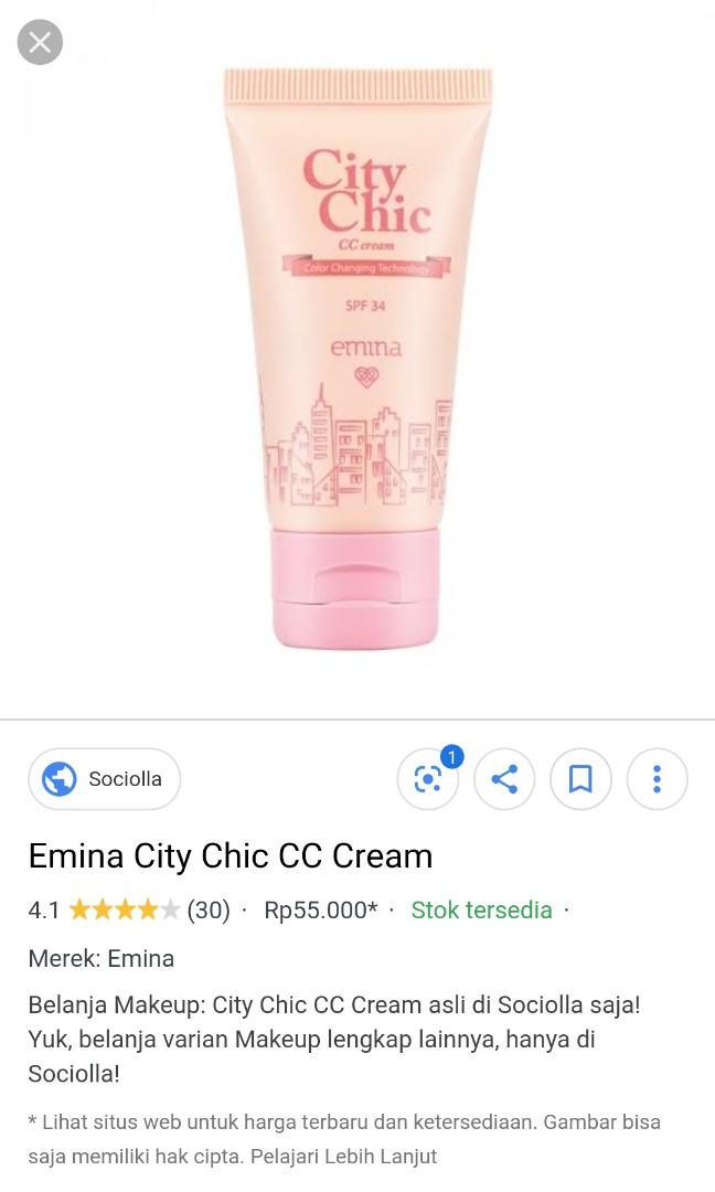 CC CREAM EMINA SHADE LIGHT