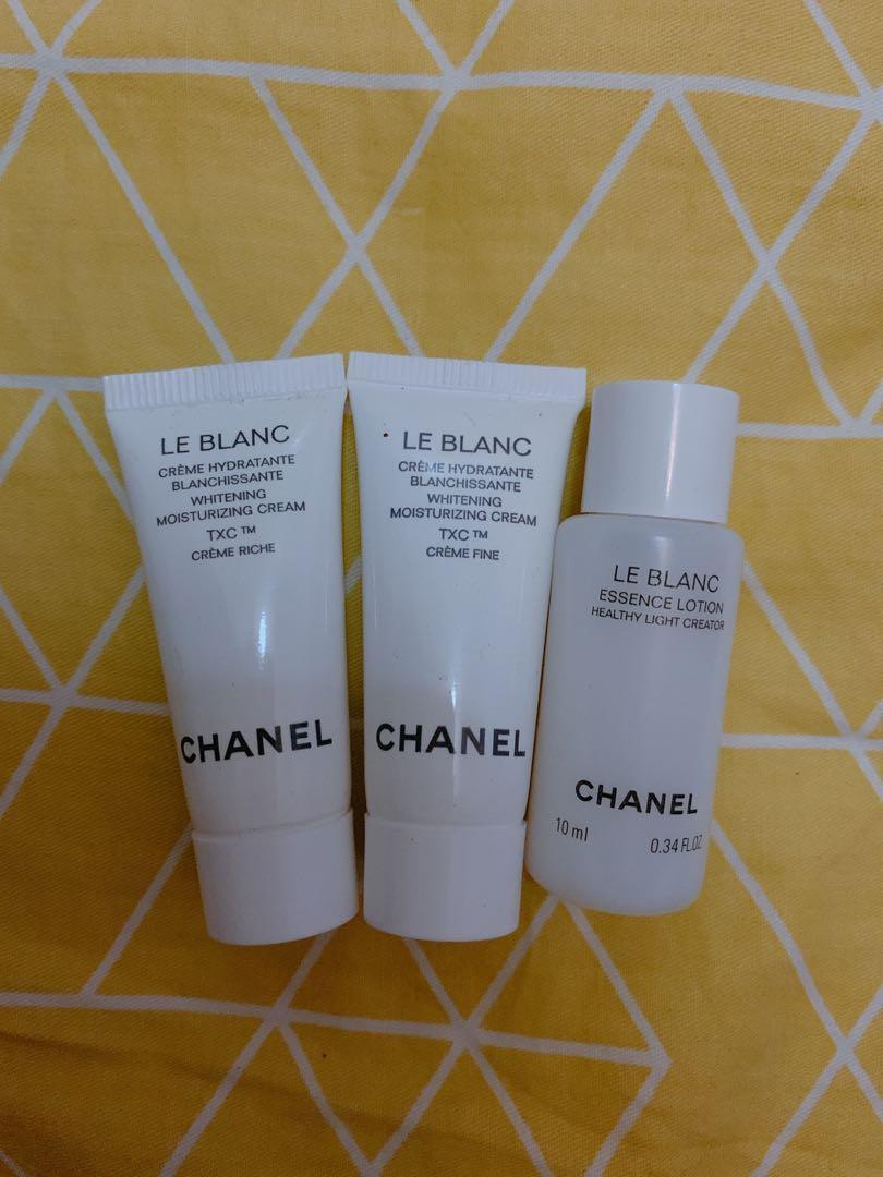 Chanel simple 美白水及面霜
