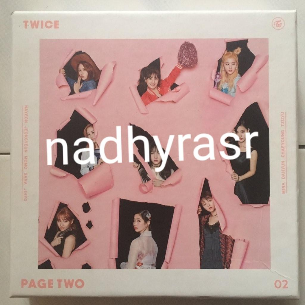 Complete Twice Album - Page Two #twice #kpop #kpopalbum #twicealbum #pagetwo