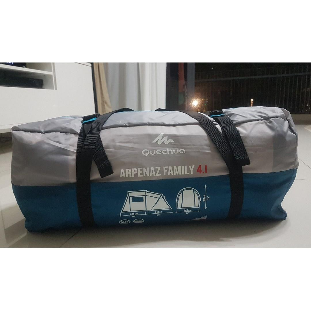 Decathlon ARPENAZ 4.1 FAMILY CAMPING TENT