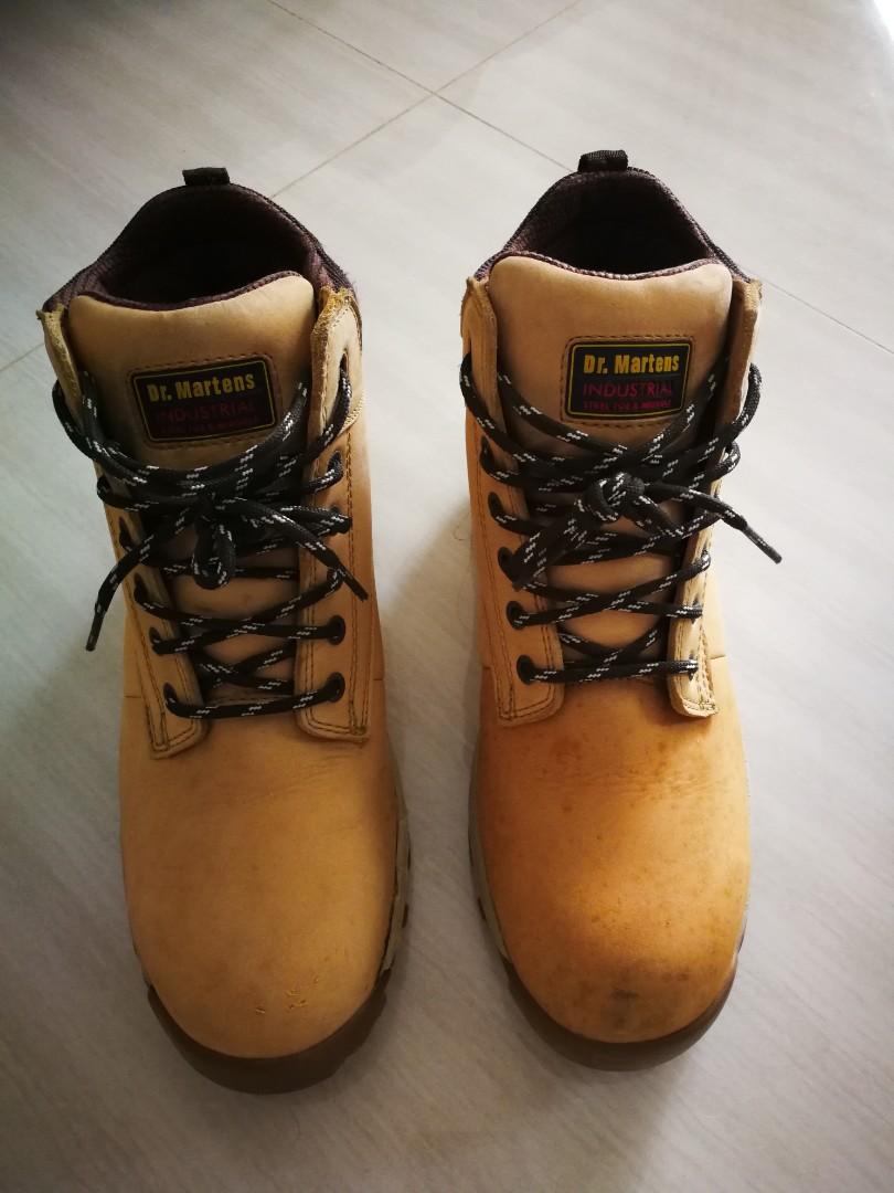 Dr Marten safety shoe, Men's Fashion