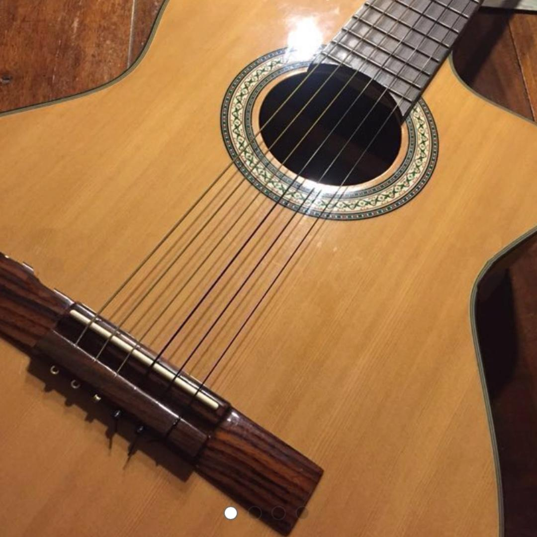 Electric acoustic Nylon Guitar