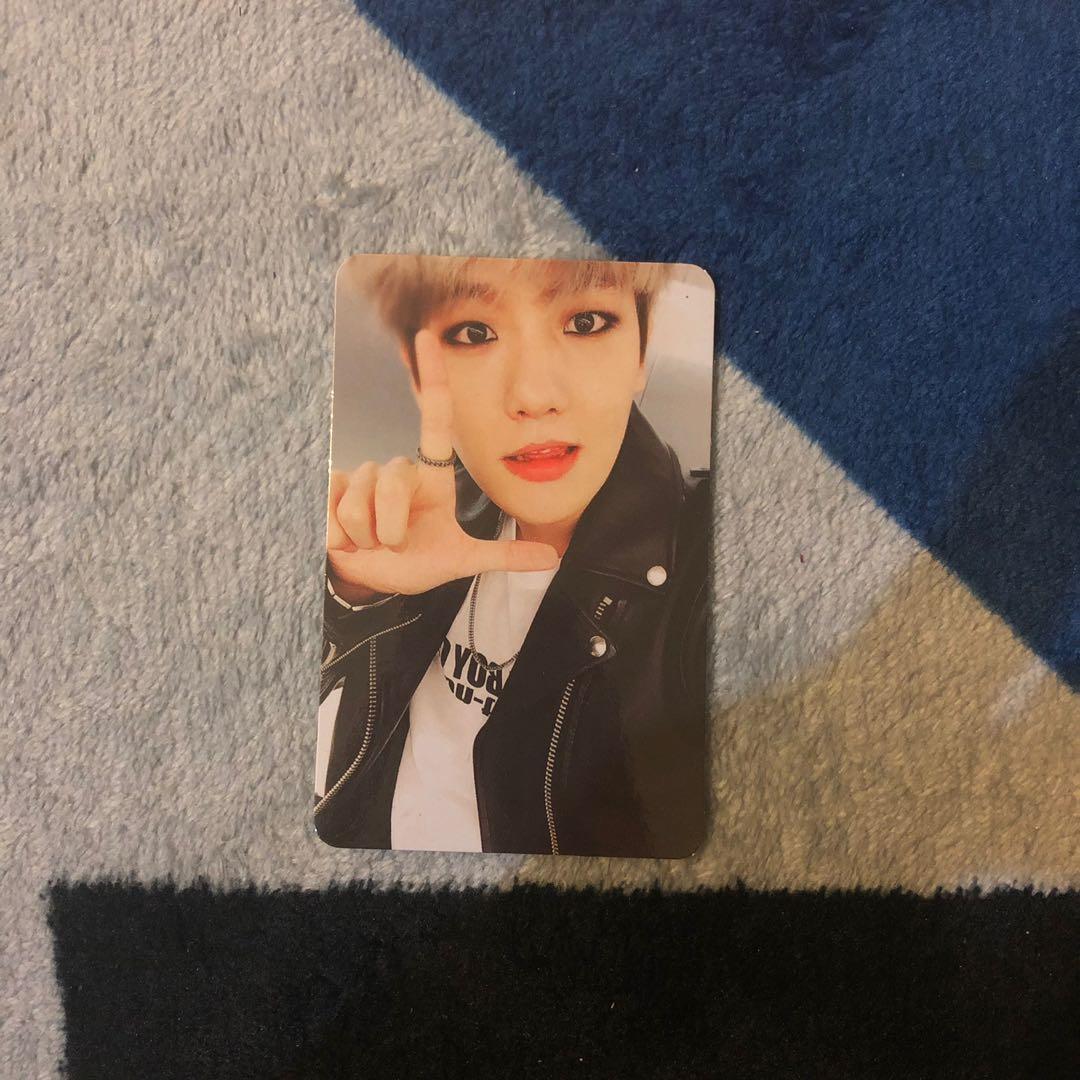 (OFFICIAL) EXO Sing For You Album Baekhyun Photocard