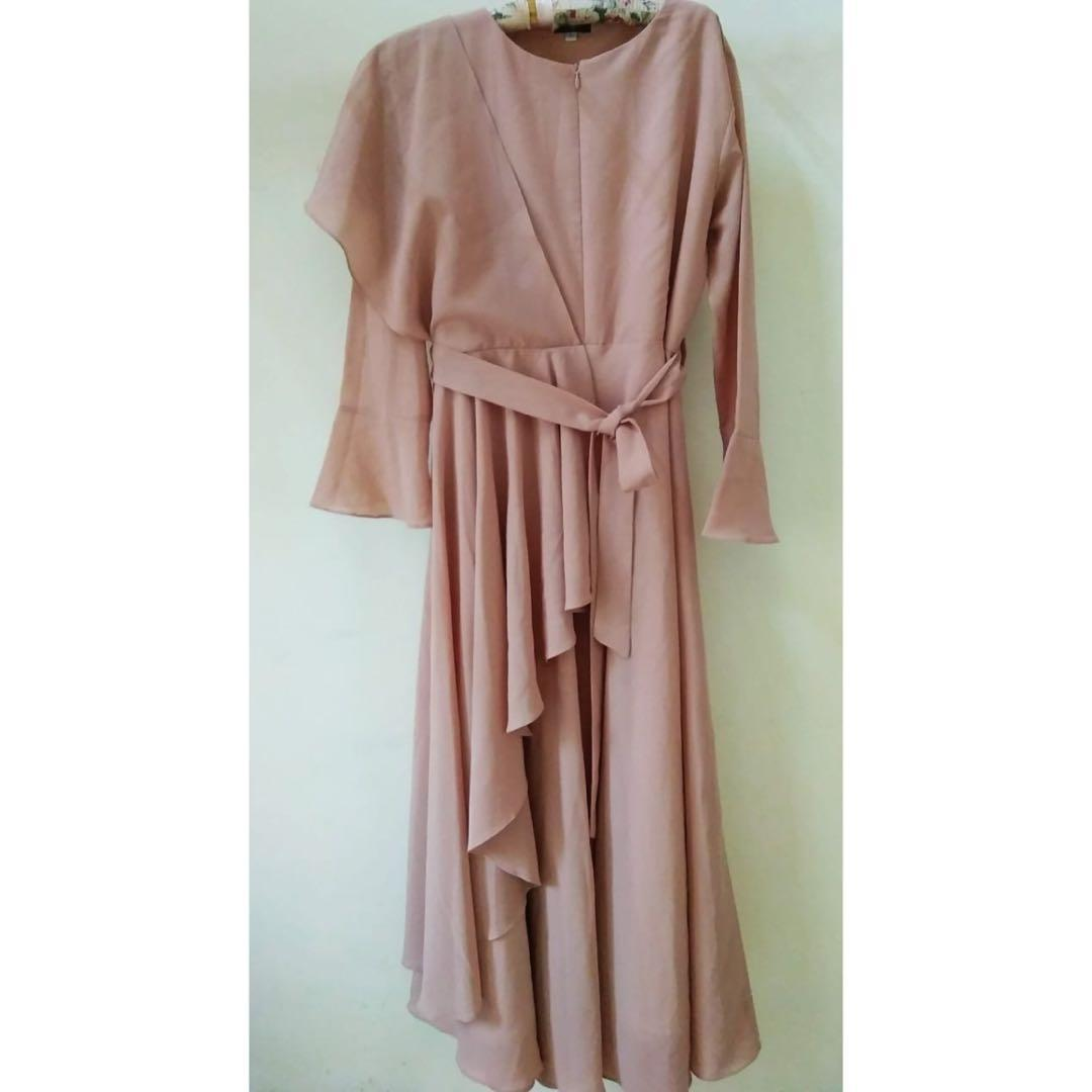 Gamis/dress dusty pink